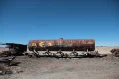 Uyuni - Cementerio de trenes