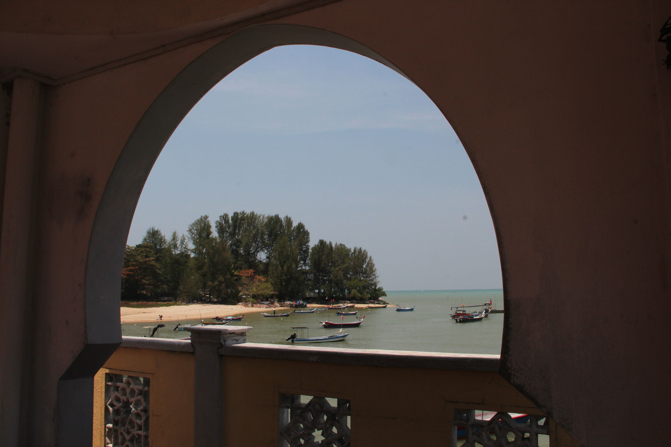 View from the floating mosque