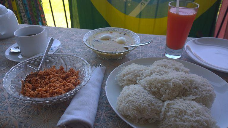 Traditional Srilank breakfast