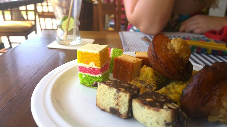 Srilankan sweets at Jetwing sea Negombo