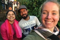 Adam's peak with our amazing guide Priyantha