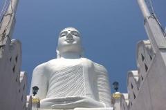 Bahiravokanda Vihara Buddha statue, Kandy